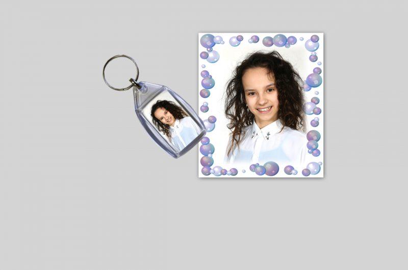 Plastikinis pakabukas+nuotrauka dovanų
